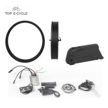 500W Bafang fat tire ebike kit part e bike conversion kit with down tube battery
