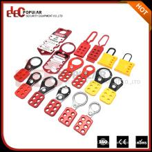 Produtos Elecpopular High Margem de lucro Red Yellow Hasp e Staple Lock Dispositivos de bloqueio de segurança