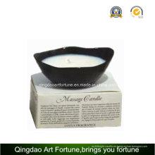 Masaje cerámica soja cera vela regalo SPA