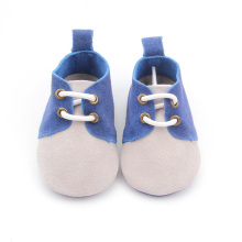 Blue Mix Grey New Style zapatos suaves para bebés