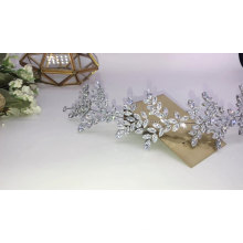 Popular Luxury  CZ zircon zirconia Shinning Women Pageant Hair accessories  Prom Hairband Wedding Tiaras