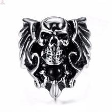 2017 neue Ankunft Gothic Punk Mode Löwe Schädel Ring für Frauen
