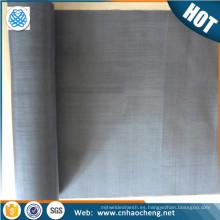 3400 grados de tela de malla de alambre de metal de tungsteno de alta temperatura de resistencia como elemento de calentamiento del horno de vacío