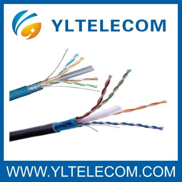 Cat.6 FTP Transmission AL-Foil Shielded Lan Cable