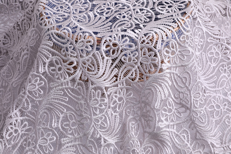 Guipure Embroidery Fabric