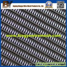 Tejido de sarga / malla de alambre de acero inoxidable tejido Weave