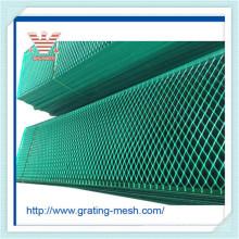 PVC recouvert / carbone / maille en métal expansé pour la clôture