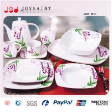 Ensemble de dîner carré à la vente chaude (JSD116-S015)