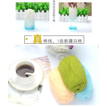 Factory Supply High Quality Combed Cotton Yarn For Hand Knitting