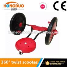 Meilleur vendeur 3 roues ezy roller 360 twist scooter avec CE