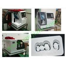 Дешевые практическое ЧПУ САПР Стоматологическая камерой фрезерный станок с высокой точностью