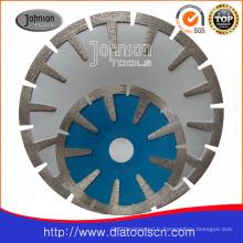 Outil de diamant - lame de scie concave intégrée