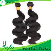 Заводская Цена Высокое Качество 100% Бразильского Виргинские Человека Плетение Волос