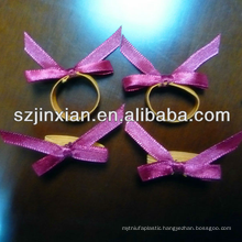 Ribbon Bow with Flat Elastic loop ,Customized Design are Available