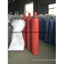 Gaz de N2o de 99,9% rempli dans le gaz de cylindre de 10L avec la valve de Qf-2