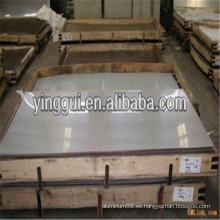 2117 2214 2218 precio de la aleación de aluminio hoja / placa del diamante del plano