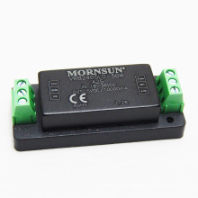 MORNSUN with heat sink and terminal converter 24vdc to 5vdc dc dc converter 10a UL CE ROHS VRB2405LD-50WA2S