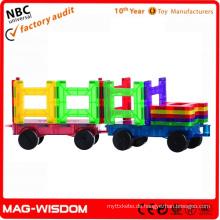 Neue magnetische Konstruktionen Bausteine Playmags 20er Sets