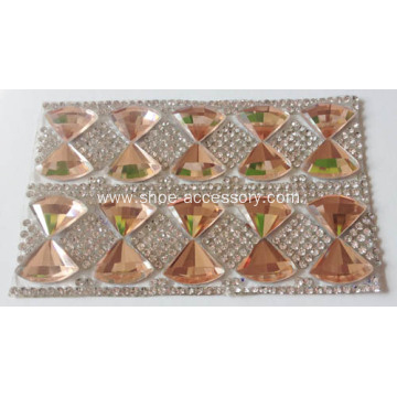 Hot Fix Adhesive Rhinestone Sheet for Wedding