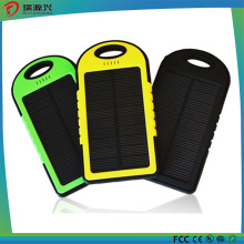 Outdoor solar power bank for mobile phone charger