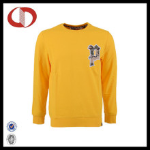 Wholesale Cotton Custom Logo Printed Crewneck Sweatshirt for Man