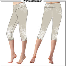 Women Designer Capri Pants Wholesale Sublimation Leggings