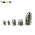 Custom Cone Ball Dog Point Stainless Steel Grub Screw Hex Socket Set Screw