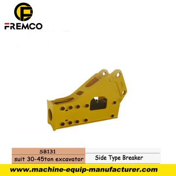 Easy Maintenance Hydraulic Breaker for Construction