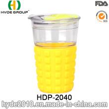 16oz New Design Clear Plastic Travel Coffee Mug (HDP-2040)