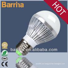 2013 nuevos productos alto lumen 3W bombilla LED