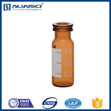 bernsteinfarbenes Borosilikatglas Snap Phiolen gc Phiole 1,8 ml