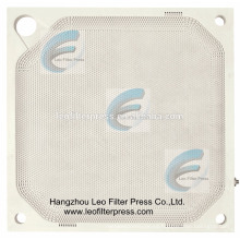 Filtro de membrana de la prensa del filtro de Leo PP, placa de filtro de la membrana de los PP de China, CE, placa del filtro de la membrana del ISO
