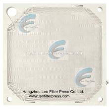 Plaque filtrante de membrane de pp de presse-filtre de pp, plaque filtrante de haute qualité de membrane de pp de Chine, CE, plaque filtrante de membrane d'OIN