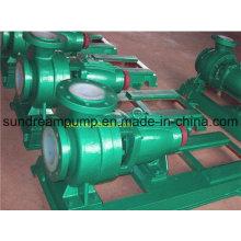 Ihf Horizontale PTFE Inline Centtifugal Pumpe, Säure Transfer Pumpe