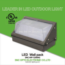 Popular in USA Market wall pack lamp Ip65 SNC UL CUL Listed high lumen 120w LED Wall Pack Light