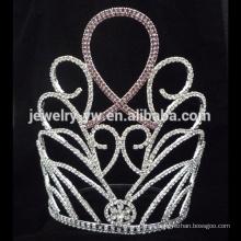 Venda Por Atacado Novos Projetos Rhinestone Crown, Tiara Novos produtos alto pageant coroa