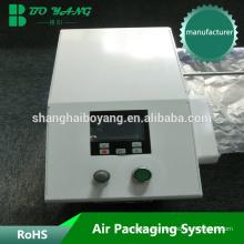China Flexible conveniente amortiguador de aire, máquina de embalaje
