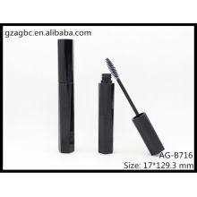 Glamourosa & vazio plástico especial-dado forma Mascara tubo AG-B716, embalagens de cosméticos do AGPM, cores/logotipo personalizado