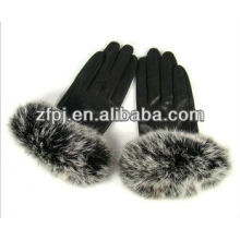 New style whosale Fashion fur Glove For Ladies in winter