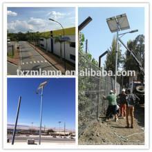 Poste de luz de calle solar de la energía de la energía solar de la luz de calle 100w