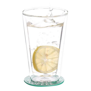 Double Wall Thermo Glass Tumbler For Green Tea Cup