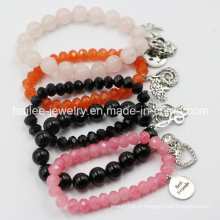 Custom Crystal Charm Fashion Lucky Beads Bracelet Jewelry