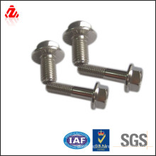 custom stainless steel din 6921 flange bolt