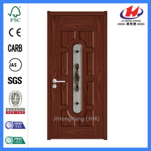 Jhk-012 Center Arch Micro Cubed Glass Glass Mdf Door