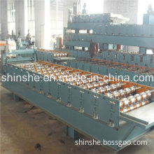 860 Wm Trapezoidal Profile Panel Roll Forming Machine