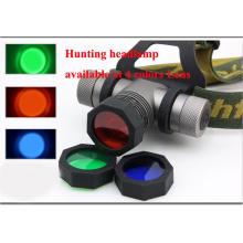 3 cores azul vermelho verde pesca lâmpada
