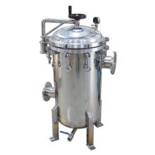 Boîtier de filtre multi-microns avec matériau en acier inoxydable