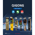 Quiltvehicle Manag Display Qigong Monitor Pedestal Access Vehicle License Plate Recognition