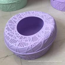 Toilette à litière pour chat avec cuillère
