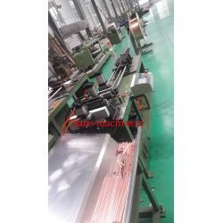 Tube Straightening & Cutting Machine